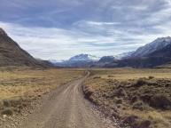 Patagonia, cerca de frontera Chile-Argentina, región de Aysén